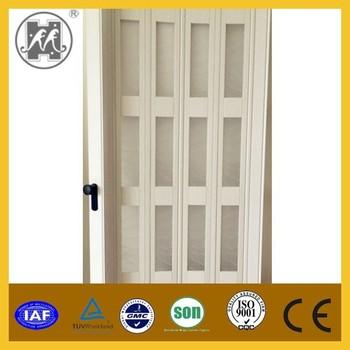 Fashionable PVC sliding door plastic folding door acrylic window ...
