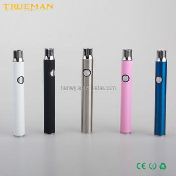 Ecig 350mah variable voltage 510 thread P2 preheat battery for CBD oil