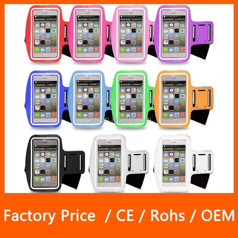 Wholesales Sports Armband for iPhone 6 Plus 5.5inch Water Resistant + Sweat Proof