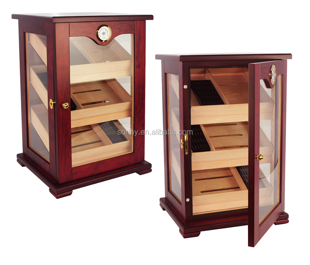 for finish gloss cabinet piano humidor cohiba cigar item aliexpress com cigars from in garden accessories home alibaba black cedar lined on drawers