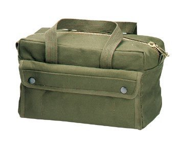 Canvas tool bag/ Electrical tool bag/ Small Zipper tool bag