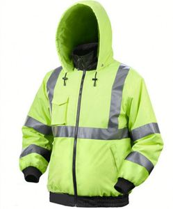 Waterproof reflective safety police motorcycles heated jacket