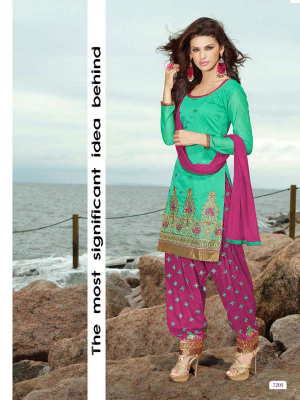 Excepcional Boda Trajes Punjabi Patrón - Ideas de Estilos de Vestido ...