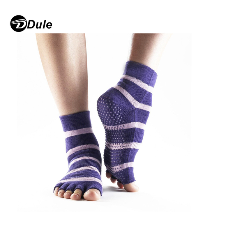 DL-II-1112 open toe ankle socks