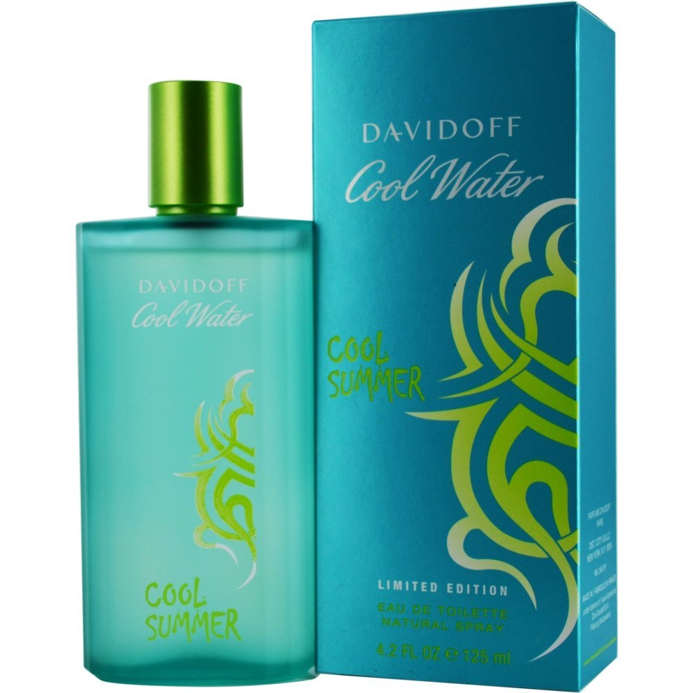 Zino Davidoff Cool Water Cool Summer By Zino Davidoff For Men Eau De Toilette Spray, 4.2-Ounce / 125 Ml