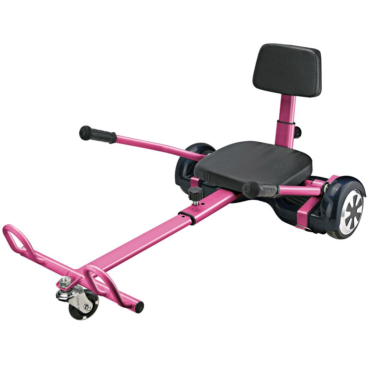 Hover Go Kart for Hoverboards, transform your Hoverboard into Go-Kart, Fully Adjustable fits Kid to Adult, Compatible with all Self Balancing Scooter (not included)