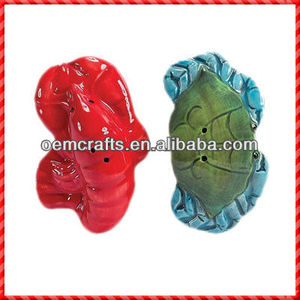 New hot sale hot-selling colorful ceramic Salt And Pepper Cellars