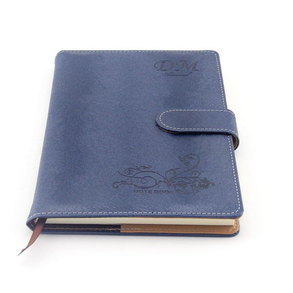 High quality pu leather notebook hardcover