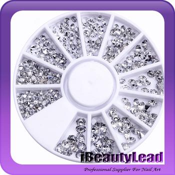 Mixed Size Acrylic Sharp Bottom Nail Rhinestone Crystal 3d Nail Art Decoration Buy 3d Nail Rhinestonenail Crystalnail Art Decoration Product On