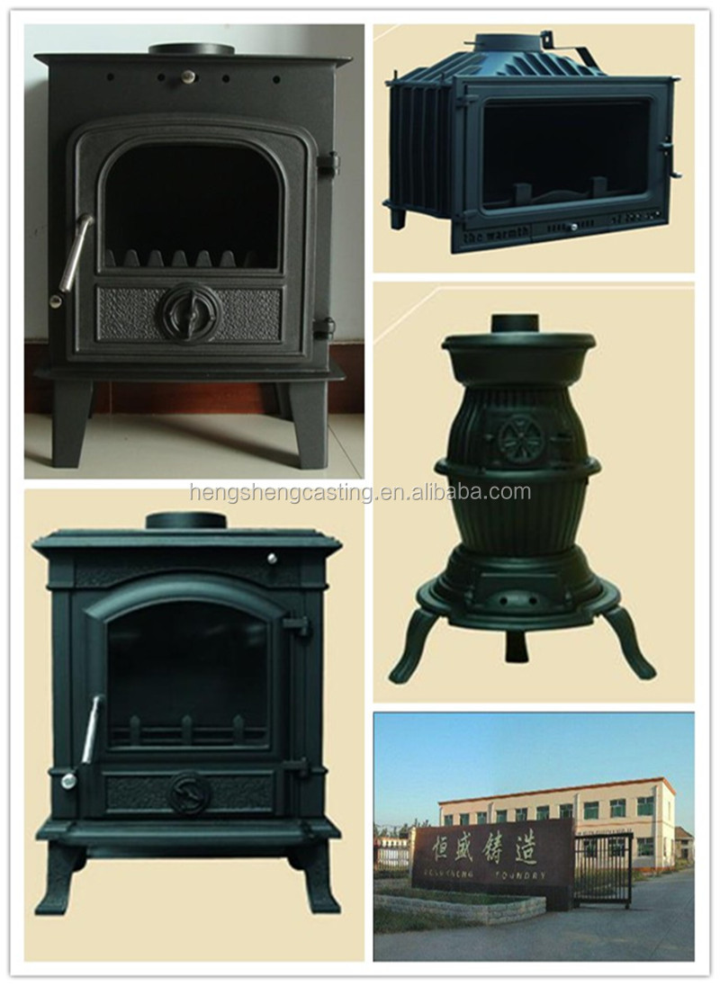 Indoor Cast Iron Wood Burning Stove With Oven Buy Wood