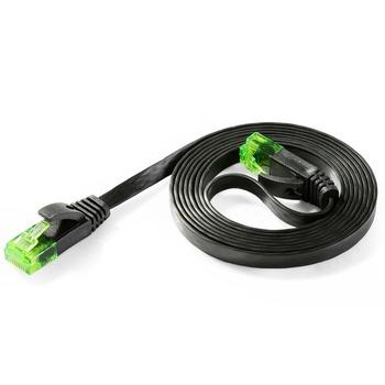 Green Snagless Rj45 Connectors Cat6 Slim Internet Network Cable ...