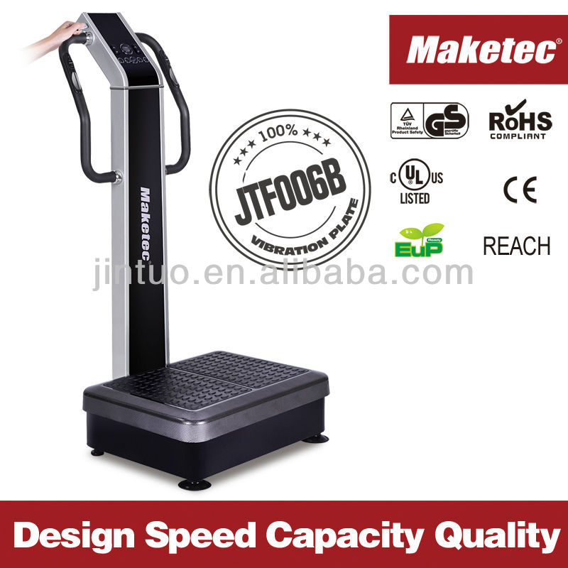 crazy fit massage vibration plate machine With CE & RoHS/UL