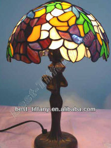 Tiffany tabel stained glass lamp - TLA1044