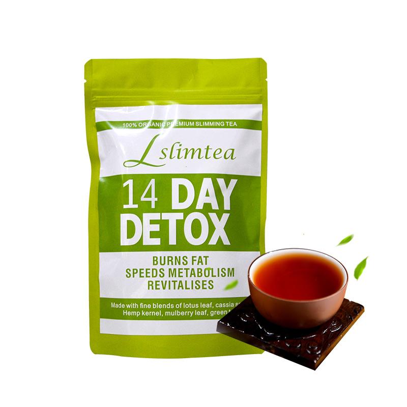 Private Label 14 days Fast Weight Loss Body Shaped Hot Selling Skinny Tetox Flat Tummy Tea wholesale detox slim tea - 4uTea | 4uTea.com