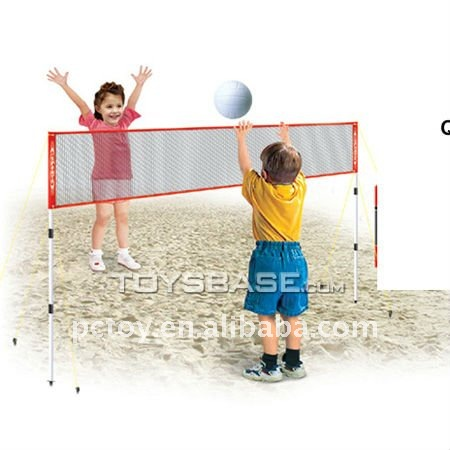Kids sand volleyball play set toys
