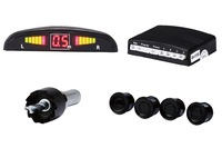 Car Buzzer Parking Sensor Kit 4 Sensors Sound Alert Indicator 22mm 12V 7 Colors Reverse Assistance Monitor System