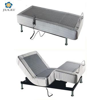 comfortable massage function adjustable electric bed frame bed base ...