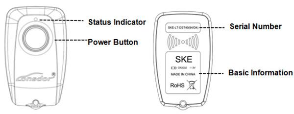 Lonsdor K518S Key Programmer Odometer Adjustment Plus SKE-LT Smart Key Emulator for All Makes