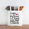 Eco Friendly Girls cotton canvas tote bag