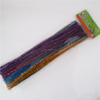 China factory supply DIY crafts 0.6*30cm glitter pipe cleaners chenille stems toys for kids or wedding decoration