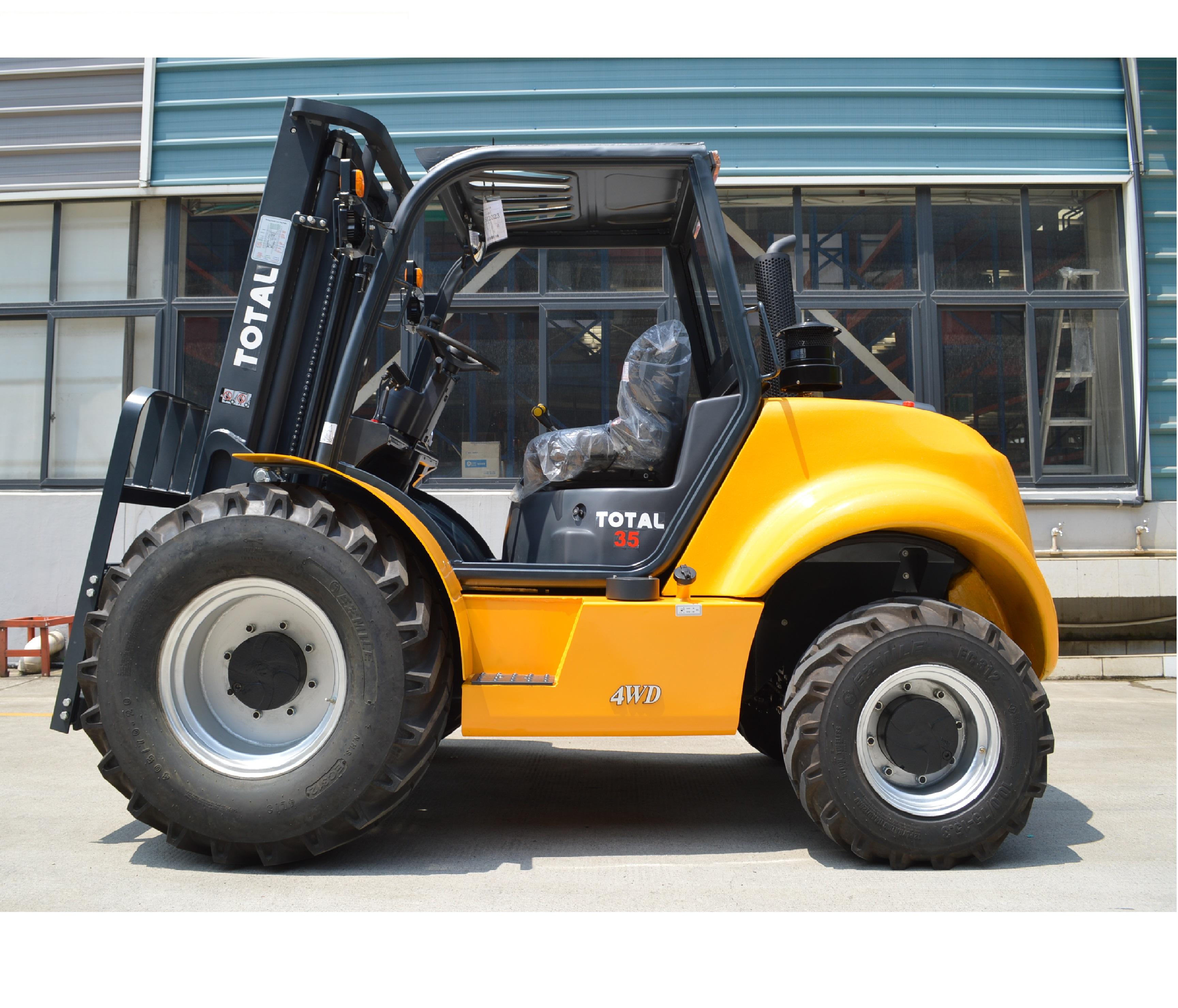 Погрузчик вилочный повышенной проходимости 3,5 ton 4WD
