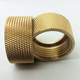 Factory custom products brass stainless steel knurled nut m8