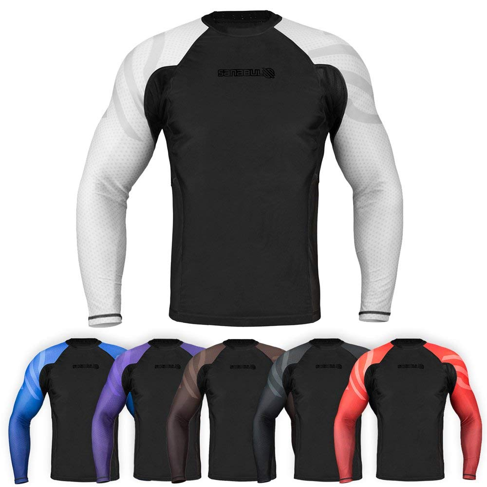 Sanabul Essentials Long Sleeve Compression Base Layer Rash Guard