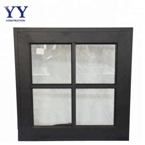 Australia standard resist storm Aluminum frame Awning Window with grilled