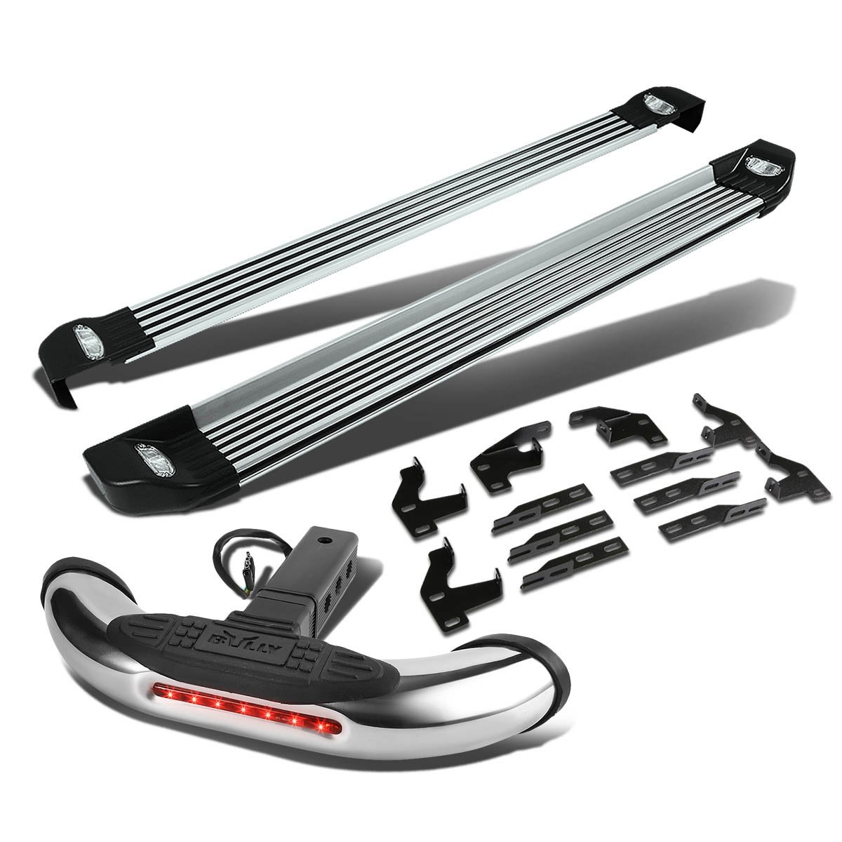 Cheap bully running boards find bully running boards deals on line get quotations honda pilot 2nd gen 525 side nerf step bar lighted running boardsbully cr aloadofball Images