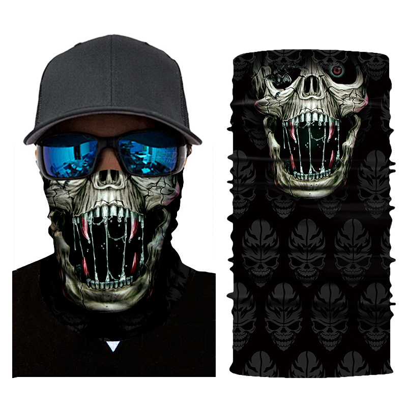 Wholesale Fashion Comic Skull Tube <strong>Bandana</strong>