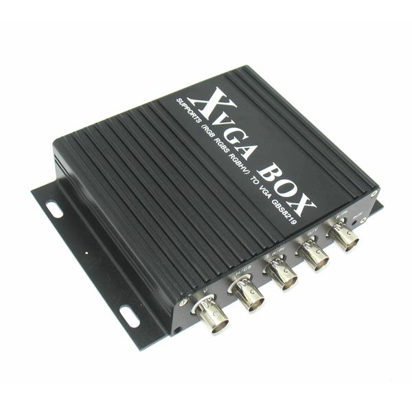 XVGA Box CGA EGA RGB RGBS RGBHV to VGA Industrial Monitor Video Converter NEW!