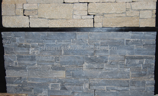 All kinds of color cheap cement culture stone natural slate