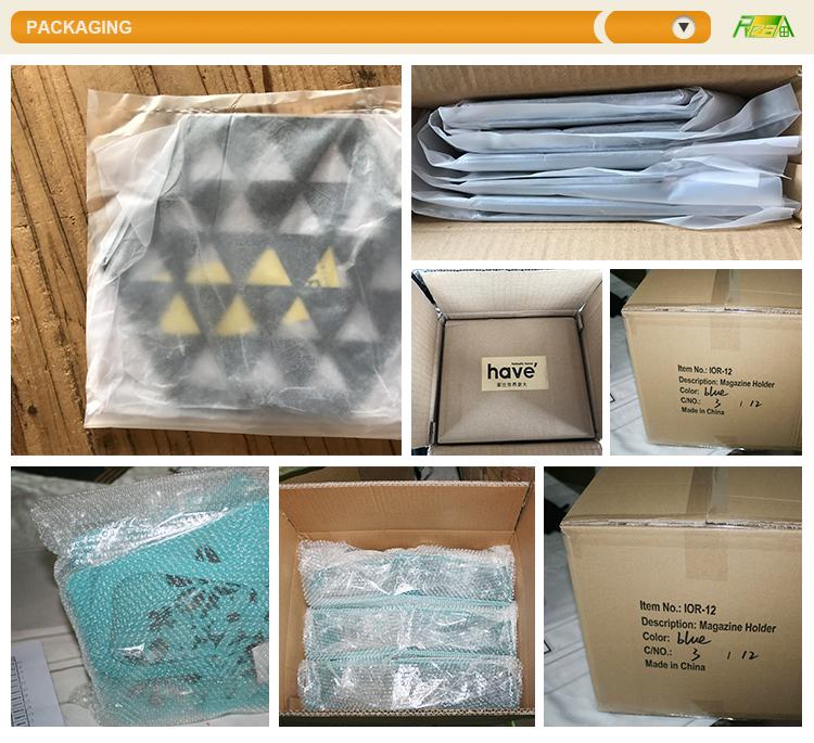 OEM moderna del metallo di modo di maglia di filo scatola decorativa, frutta piastre di ferro, cestino di immagazzinaggio per hotel restaurant