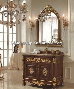 Bisini Lastest Country Style Eitelkeiten Badezimmer,Vintage Spiegelschrank  Waschtischunterschrank,Handgeschnitzte Spiegelschränke (bf08-4094) - Buy ...