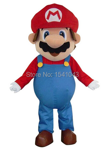 5d2a38d575 Get Quotations · New super mario Mascot costume Advertising costumes  Halloween holiday costumes Free Shipping