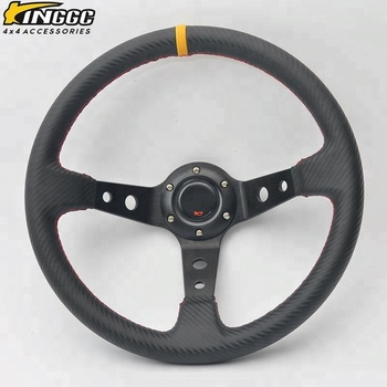 350mm Universal Modified carbon fiber steering wheel racing