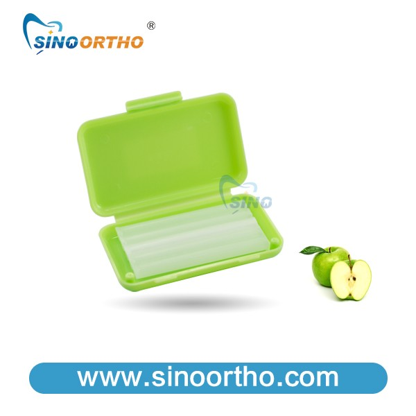 Sino Ortho New Color Dental Wax Orthodontic Braces Green/red/blue/yellow  Nive Colors Available - Buy Orthodontics Wax Lined Boxes,Dental Carving  Blue