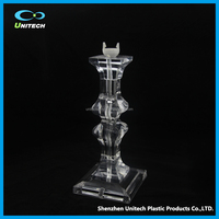 high transparent acrylic table lamp body lamp part