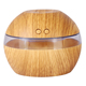 Woodgrain Essential Oil Diffuser Aroma Diffuser Ultrasonic Air Humidifier/Purifier for Car Home Office