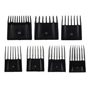 Miaco Universal Clipper Guide Comb Set, 7 Pieces, Fits Oster, Andis, Wahl, Etc