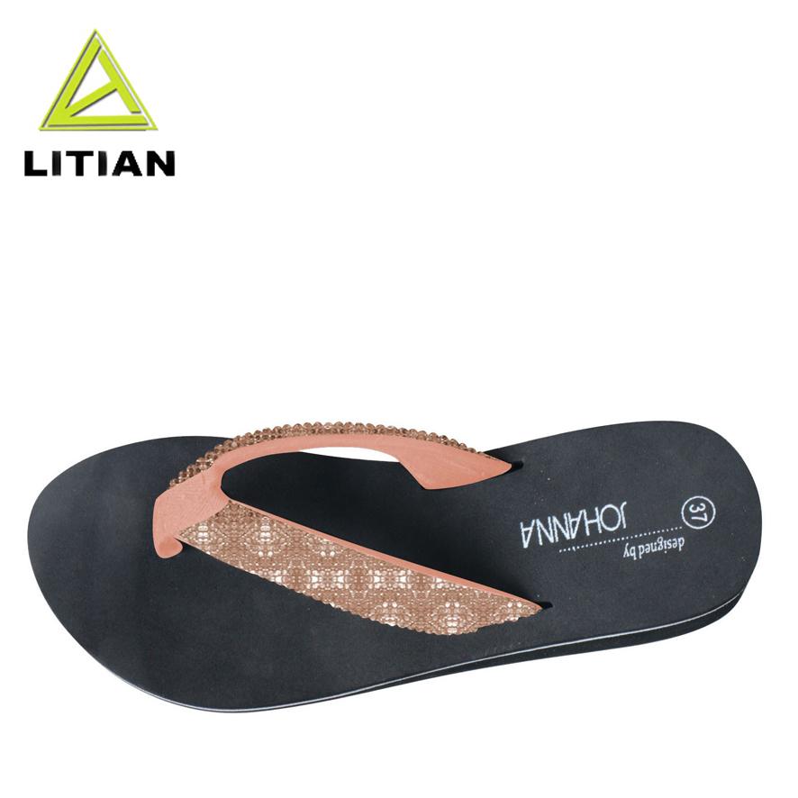Women Summer Sandals Ladies Lightweight Rubber Sole Z-Shape Beach Bath Slippers