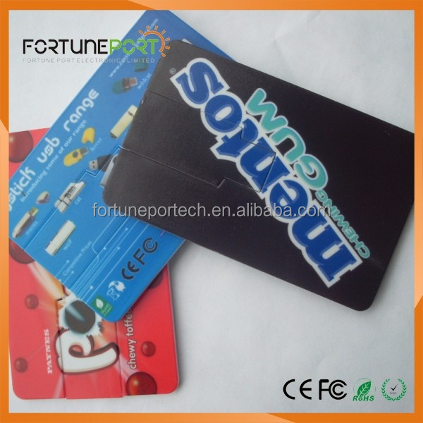 Hot Selling Advertising Gadgets, Wholesale Bulk Cheap Custom Logo Usb Credit Card