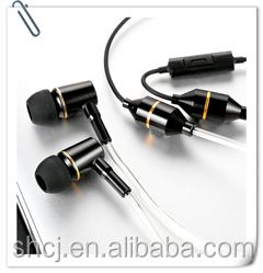 ibrain Metal Stereo Air Tube Radiation Proof Headsets Compatible to Mp3/Computer/ Mobile Phone