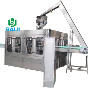 Glass bottle nonalcoholic sparkling wine / champagne / cocktail filling machine
