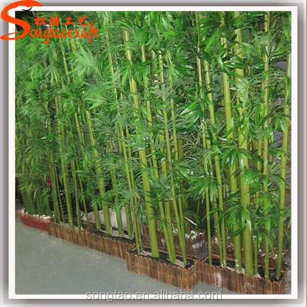Artificial plantas de bambu de bambu rvore para decora o - Bambu planta exterior ...