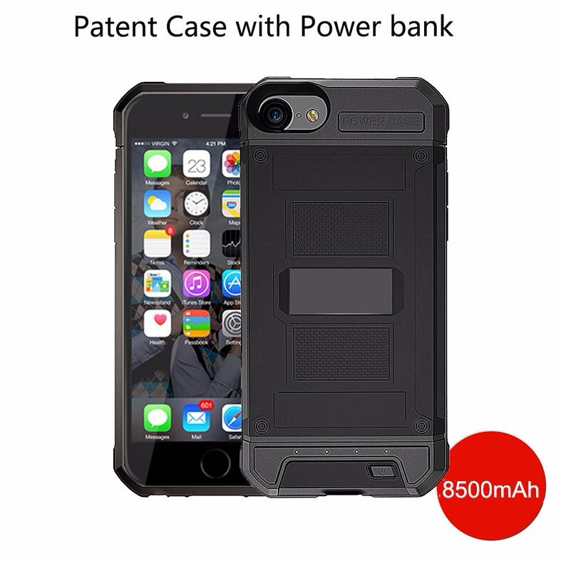New Products High Quality Power Case, Power Bank Case For Iphone 6 6S 7 Battery Case