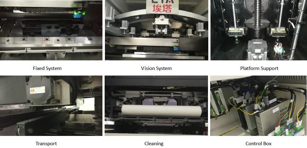 High Efficiency Full Auto Stencil Printer Machine PCB Printing Machine For SMT Production Line 3