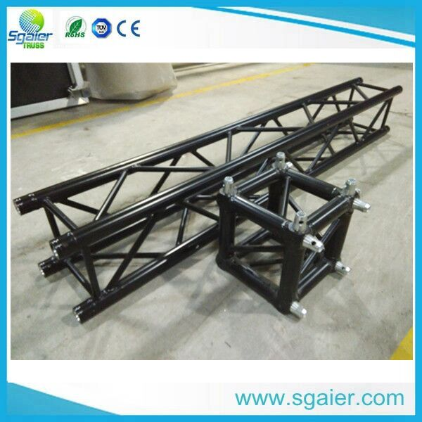 black used aluminum lighting professional stage truss with high quality in Truss factory 2012