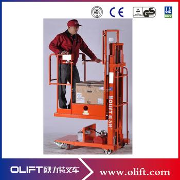 aerial order picker olift order picker job description in a