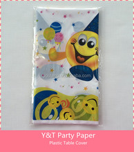 Customized Plastic Table Cover 1 Pc Pack Birthday Party Happy Birthday Baby Shower